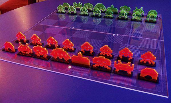 Space Invaders Jogo de Xadrez