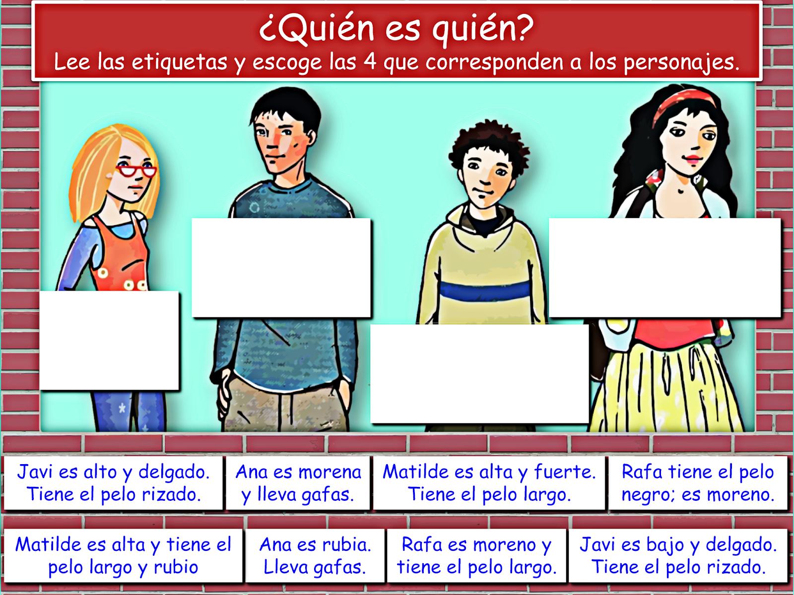 Me Encanta Escribir En Espanol El Aspecto Fisico Como
