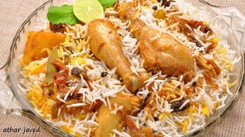 Pin By Athar Javed On Food Chicken Biryani Recipe Biryani Hyderabadi Biryani Recipe