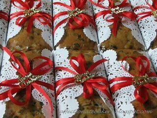 Wrap Ideas For Mini Loaves Christmas Cookies Gift Christmas Food Gifts Christmas Fruit