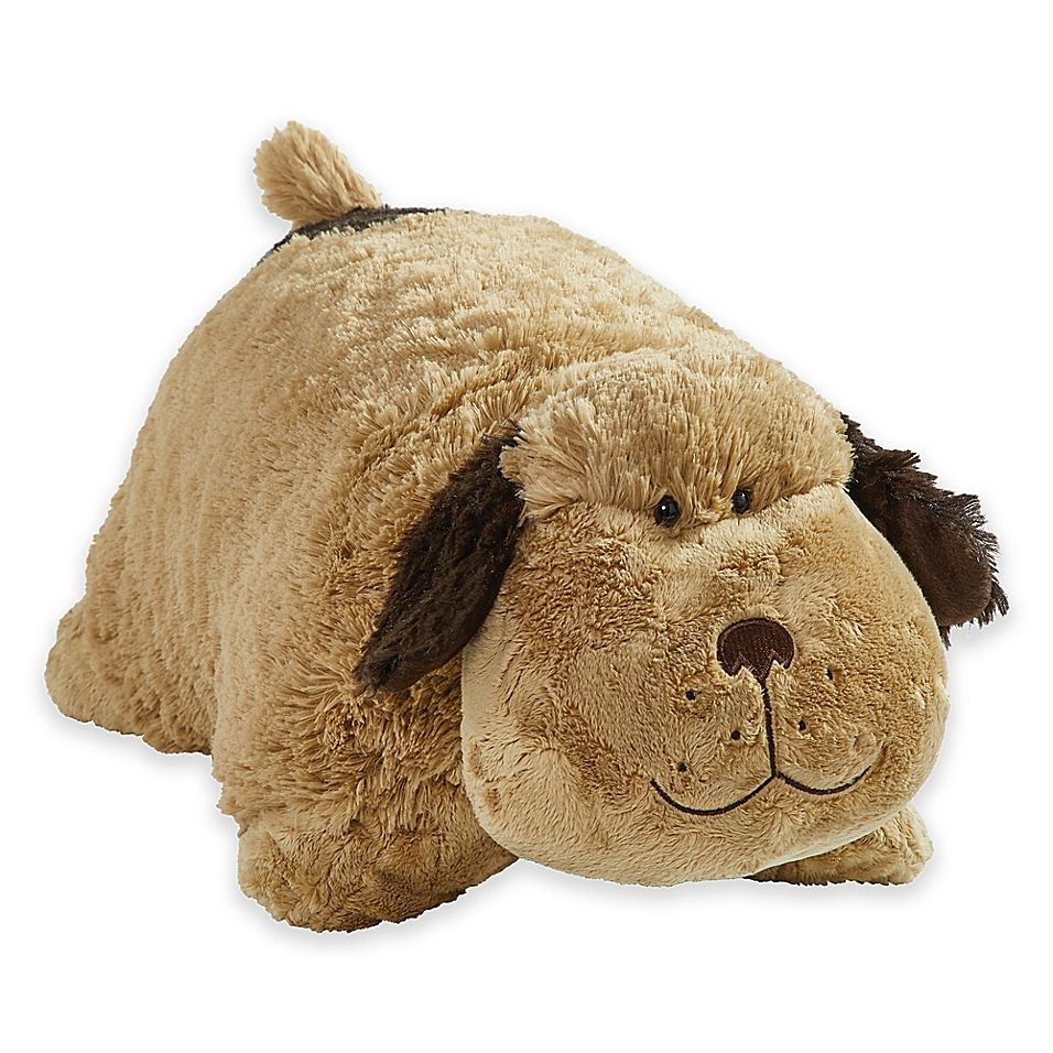 Pillow Pets Signature Snuggly Puppy Pillow Pet In Brown In 2020