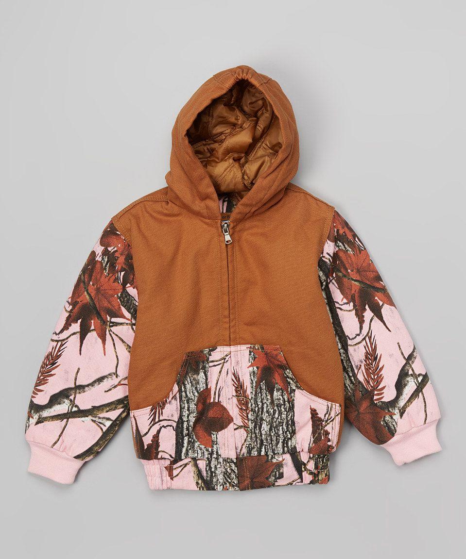 Outdoor Habitat Pink   Brown Camo Hooded Jacket - Toddler   Girls by  Outdoor Habitat  zulilyfinds 6cdf8efd1