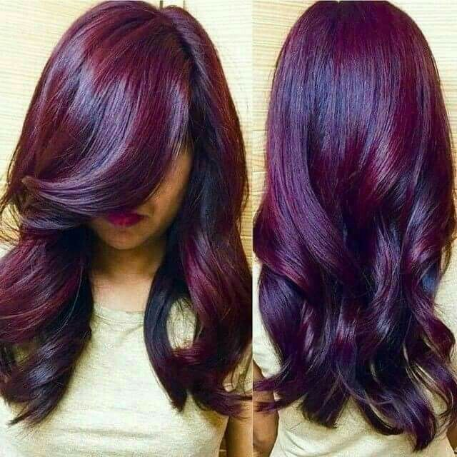 mulberry hues hair make up hair plum hair violet. Black Bedroom Furniture Sets. Home Design Ideas