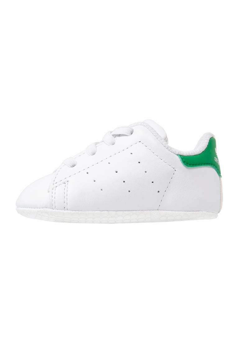 the latest get cheap to buy STAN SMITH CRIB - Chaussons pour bébé - white/green @ ZALANDO.FR ...