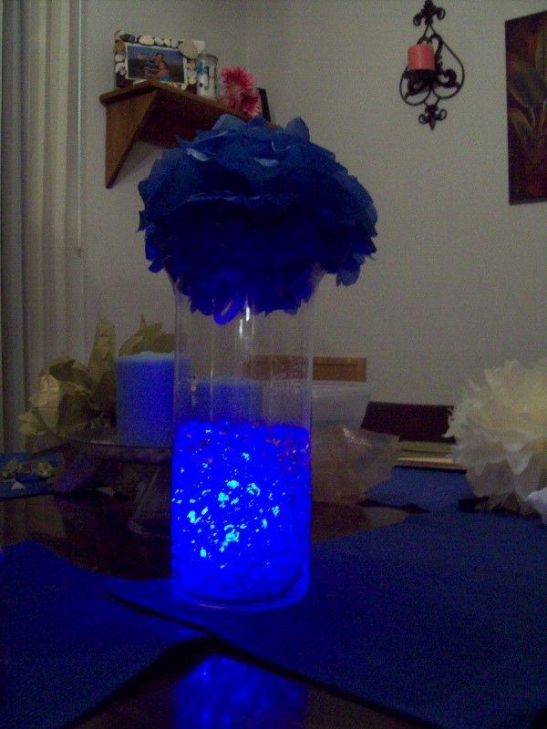 Another Cool Lit Water Beads Centerpiece Wedding