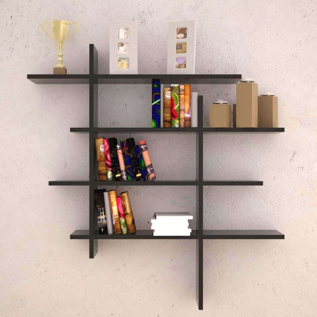 Wall Decor: Luxury And Decorative Wood Wall Shelves Varnished With Black  Paint Minimalist Wood Wall Shelves From Decorative Wall Shelves For More  Attractive ...