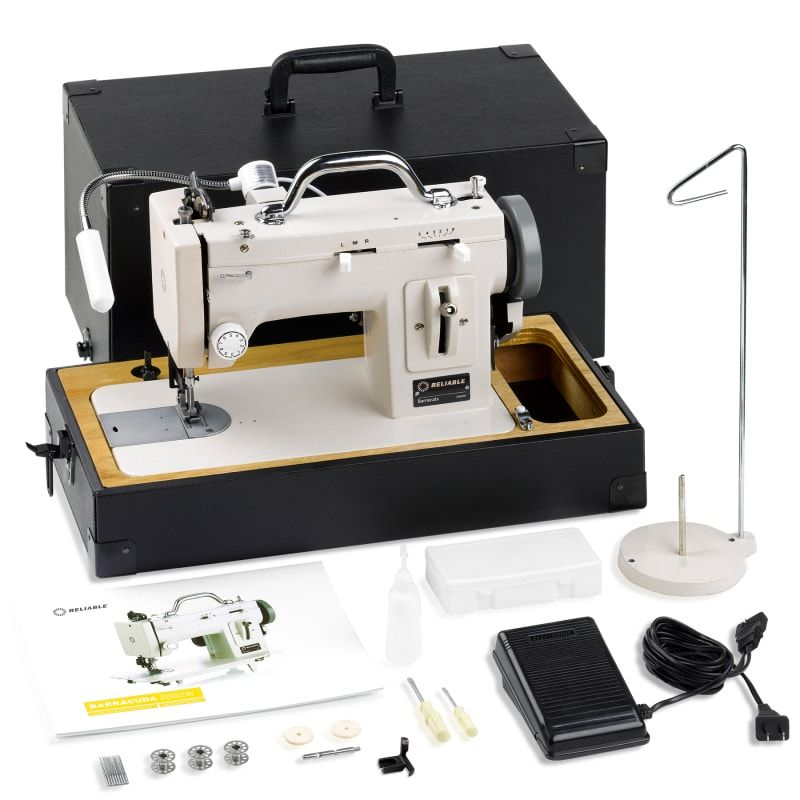 Reliable 40ZWCRAFTSMAN Barracuda 40RPM 40 Needle Lockstitch Delectable Portable Industrial Sewing Machine