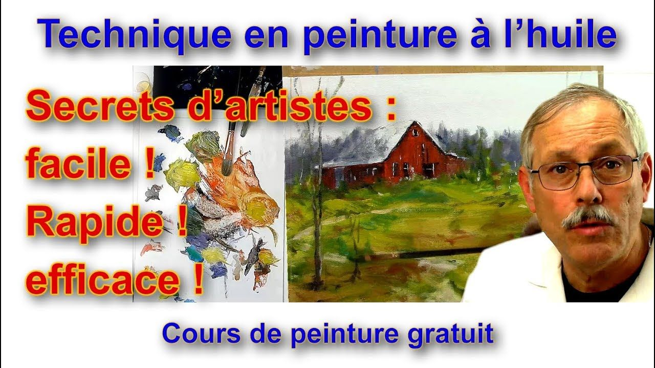 La Peinture De Paysage Secrets D Artistes Youtube Peinture Paysage Peinture Tutoriels De Peinture De Toile