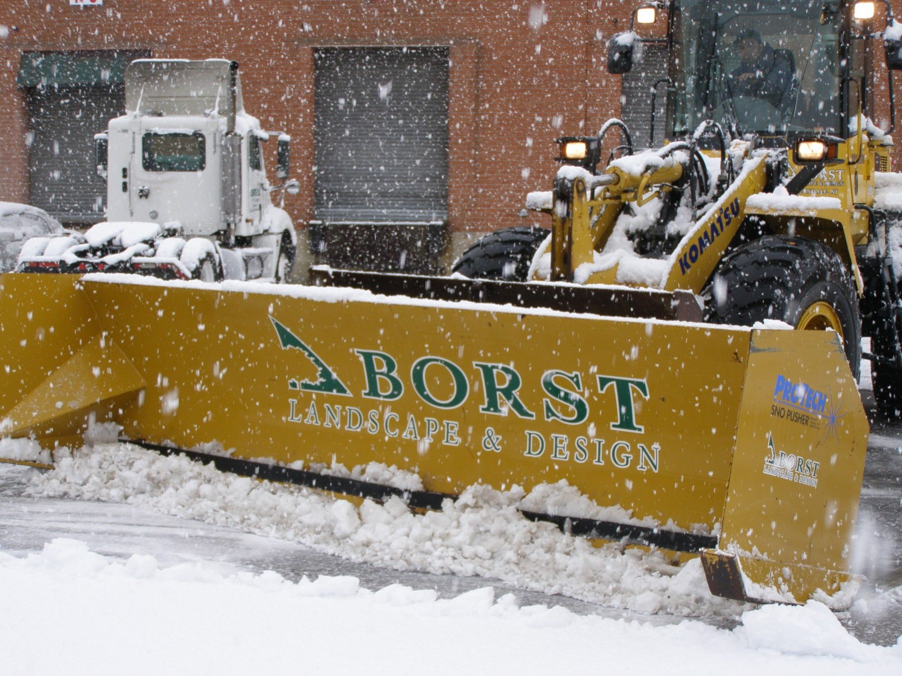 Commercial snow plowing rates in bergen county snow