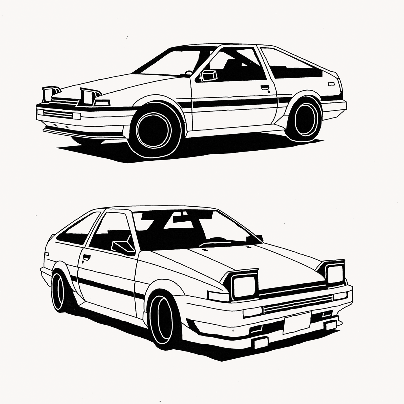 Behance Dibujos De Coches D Inicial Carros Y Motos