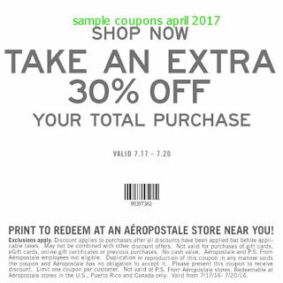 recipe: aeropostale coupon code september 2017 [1]