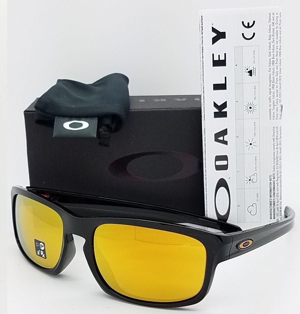 e96b62b491 NEW Oakley Sliver Stealth sunglasses Black 24K Iridium 9409-02 GENUINE 9409  NIB Oakley Sliver