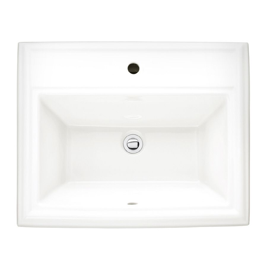 Town Square Countertop Sink Dimensions: 23-1/8\
