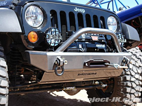 Shrockworks Front Bumper Love The Function Over Fashion Jeep