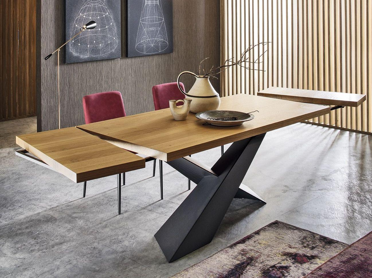 Tavolo Da Pranzo Rettangolare In Legno Living Grafite Rovere Miele Collezione Living By Riflessi Tavolo Moderno Tavolo Da Pranzo Moderno Tavoli
