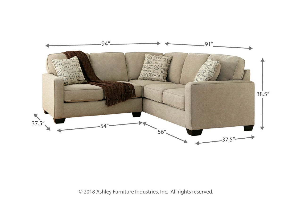 Best Alenya 2 Piece Sectional Sectional 3 Piece Sectional 400 x 300