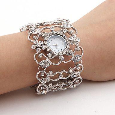 Diamant stil Klokke i sølv - NOK kr. 79