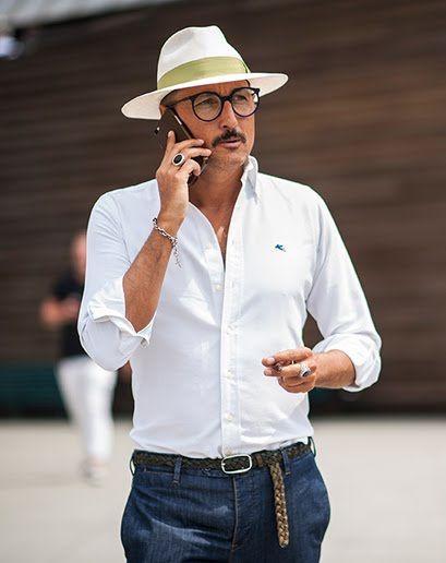 size 40 c43d9 f8b13 Get up. Crisp  Mans style  Italian mens fashion, Fashion, Ha