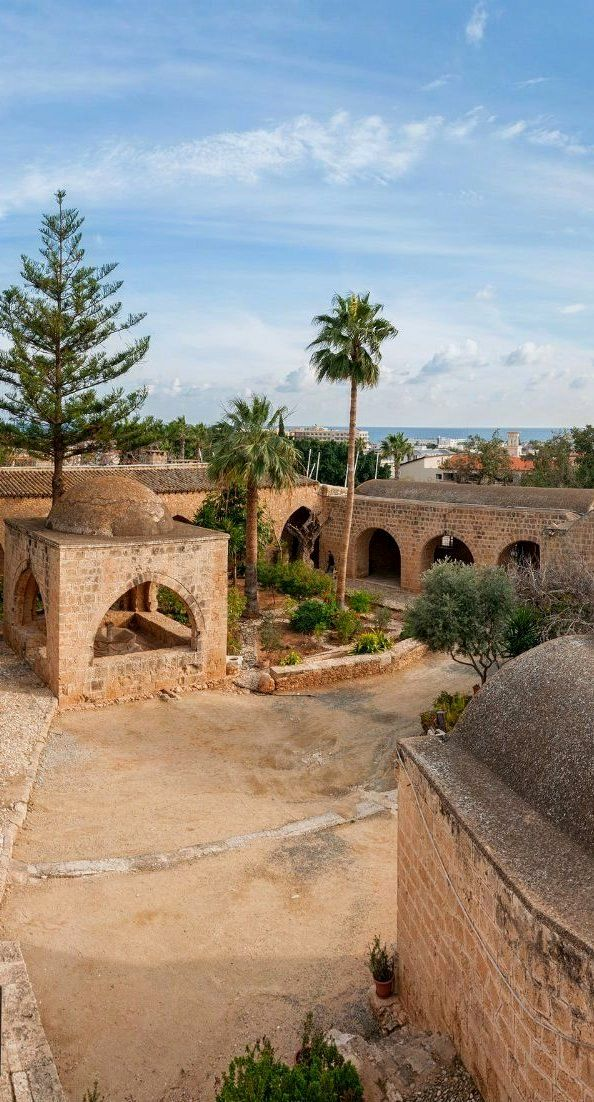 The yard of Medieval Monastery - Ayia Napa, Cyprus                                                                                                                                                                                 More