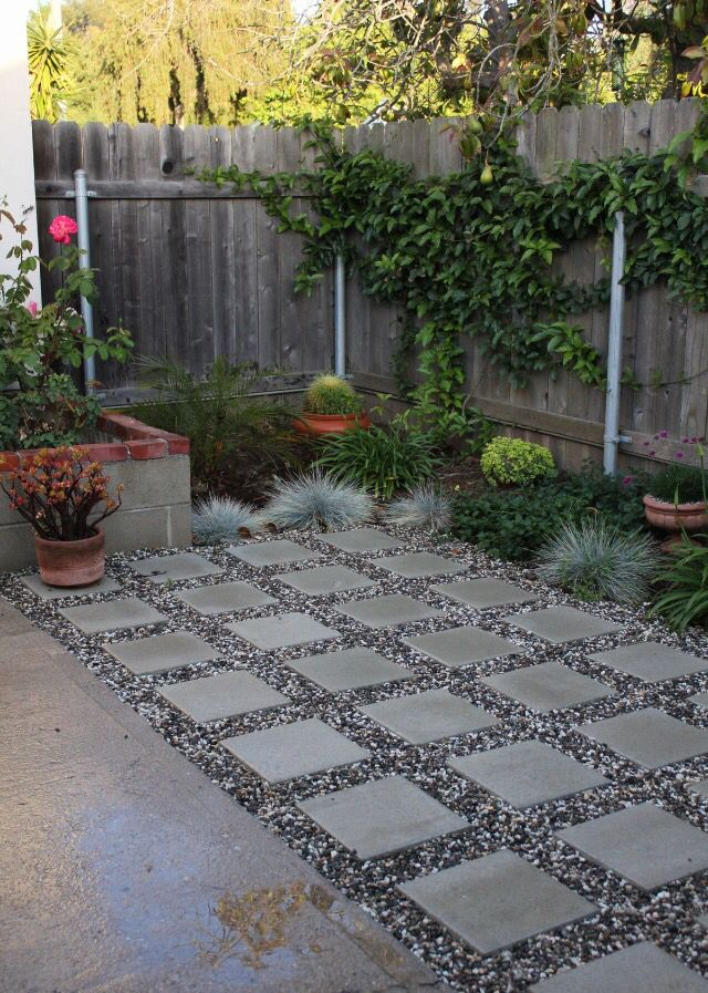 pavers with crushed stone patio idea - Crushed Stone Patio