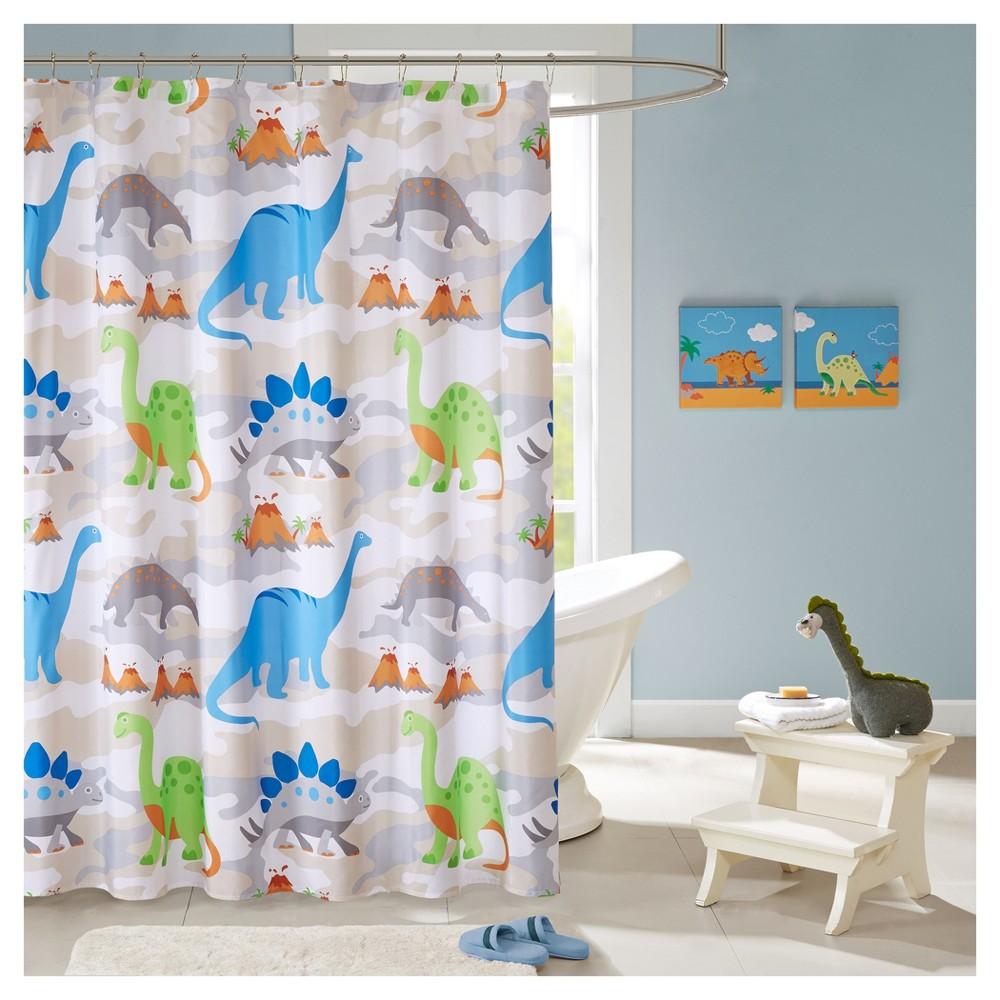 Dinosaur Shower Curtain Cool Shower Curtains Curtains Kids