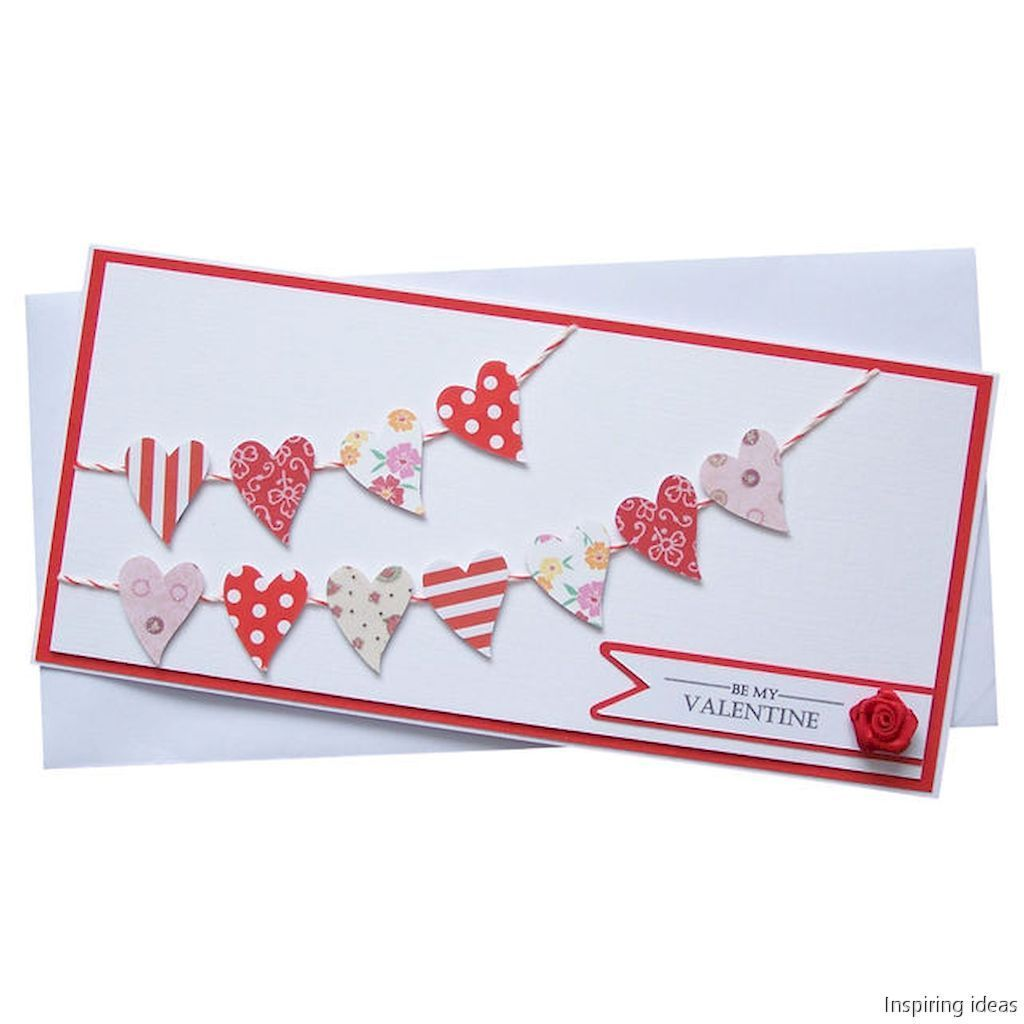 65 unforgetable valentine cards ideas homemade | Cards, Diy cards ...