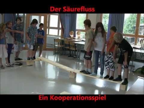 Säurefluss Kooperationsspiel - YouTube