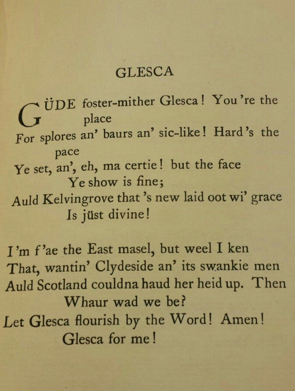 Glesca william douglas 1913 scottish sayings proverbs poems glesca william douglas 1913 kristyandbryce Choice Image