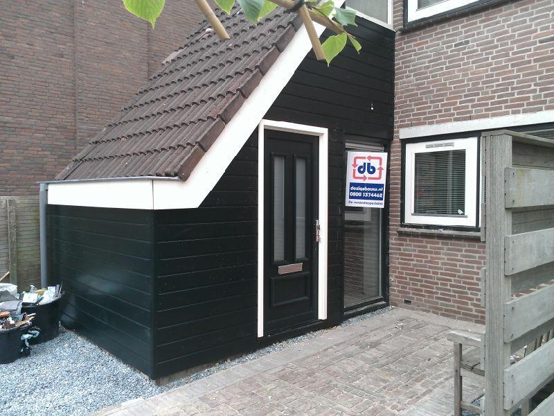 Kunststof kozijnen voordeur en gevelbekleding. voordeur pinterest