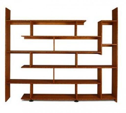Bamboo Stagger Shelf | Interiors | Bookshelf design ...
