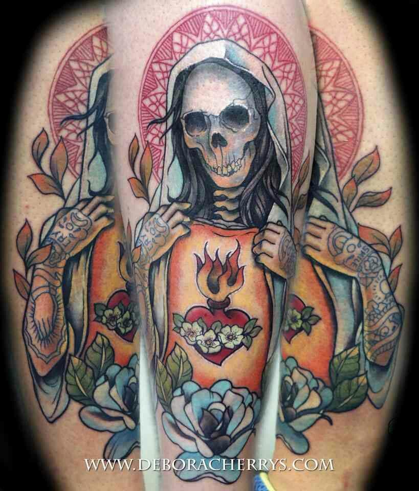 Tribal Santa Tatoo: Dark Art Tattoo, Tattoo Studio, Tattoo Skin
