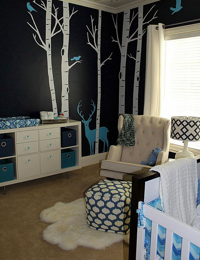 8 Beautiful Nurseries Inspired By Nature Night Woods Nursery
