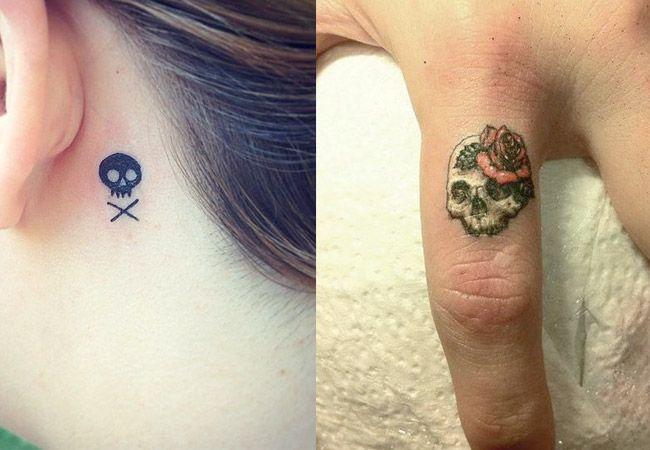 Tatuajes De Calaveras Que Vas A Querer Hacerte Tatuaje De Calavera Pequeno Calaveras Tatuajes Tatuajes