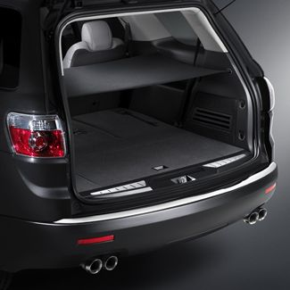 Keep The Cargo Area Of Your Acadia Enclave Or Traverse Under Wraps With This Ebony Fabric Cargo Security Shad Buick Enclave Tailgate Accessories Acadia Denali