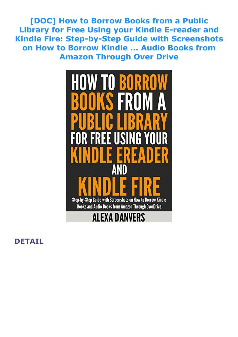 fire from kindle library books public