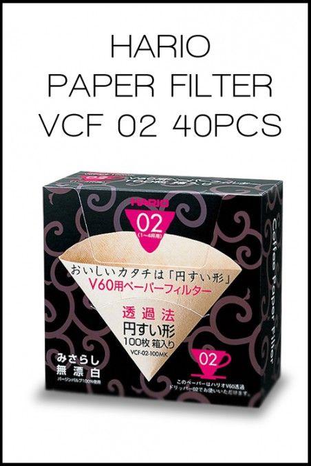 HARIO PAPER FILTER VCF 02  | OttenCoffee - Mesin Kopi , Coffee Grinder , Barista Tools , Kopi Indonesia