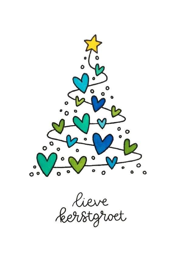 Kerstkaart- Lieve kerstgroet - Kerstkaarten | Kaartje2go
