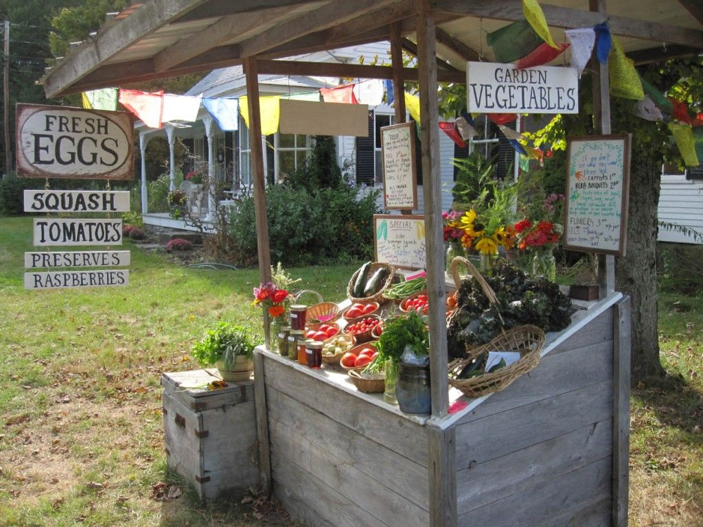 Vegetable Stand Designs : Vegetable stands designs when the garden is finally put to bed