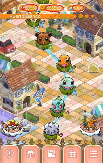 Pokémon Shuffle Mobile Hack Cheats for iOS Android