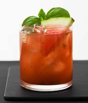 GREY GOOSE® Vodka   Basil Watermelon Cooler