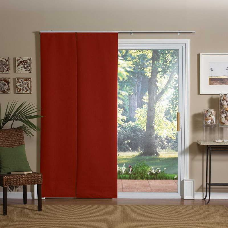 Variety Of Patio Door Curtain Sliding Panels