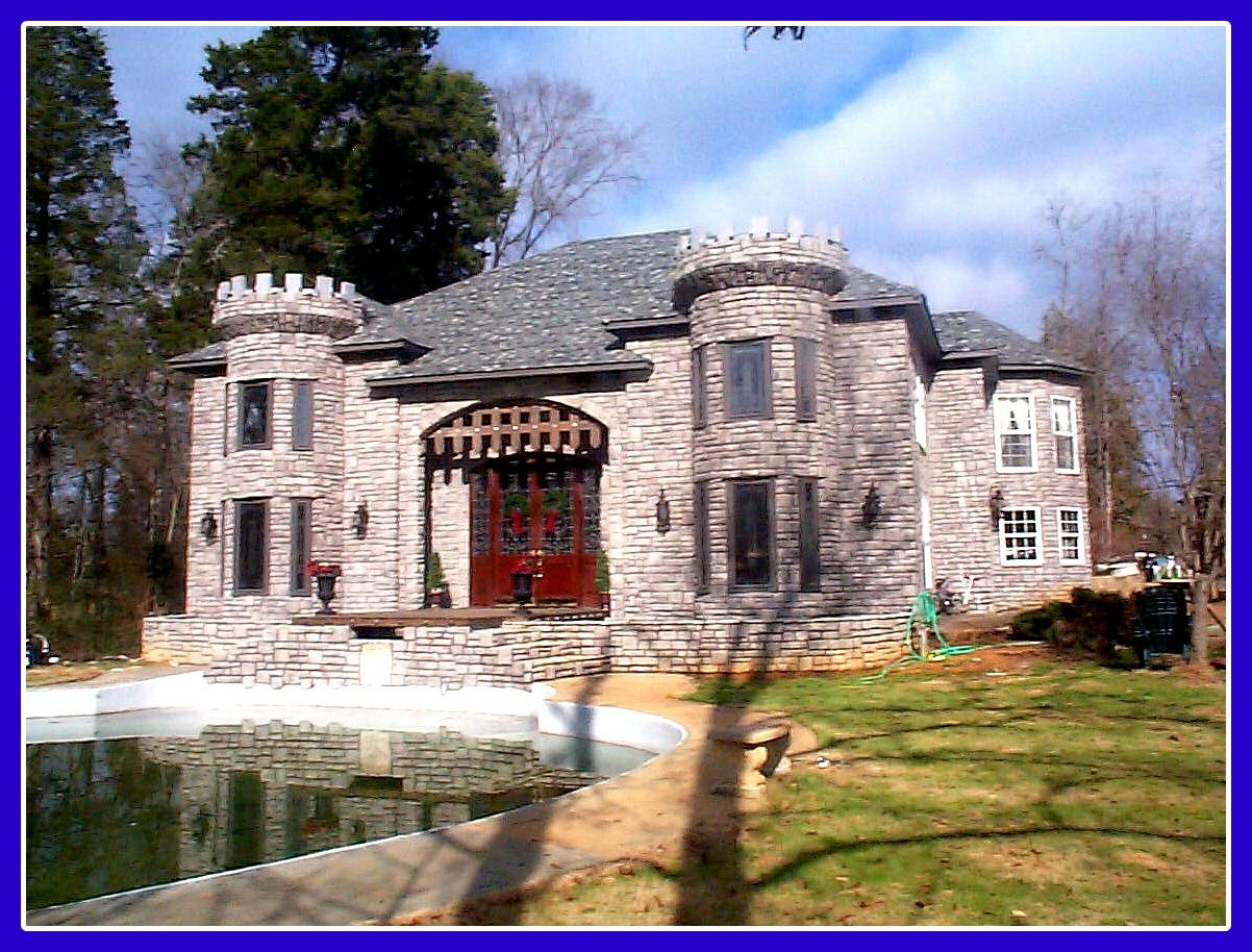 Castle Home In Shelby County Alabama Castle House
