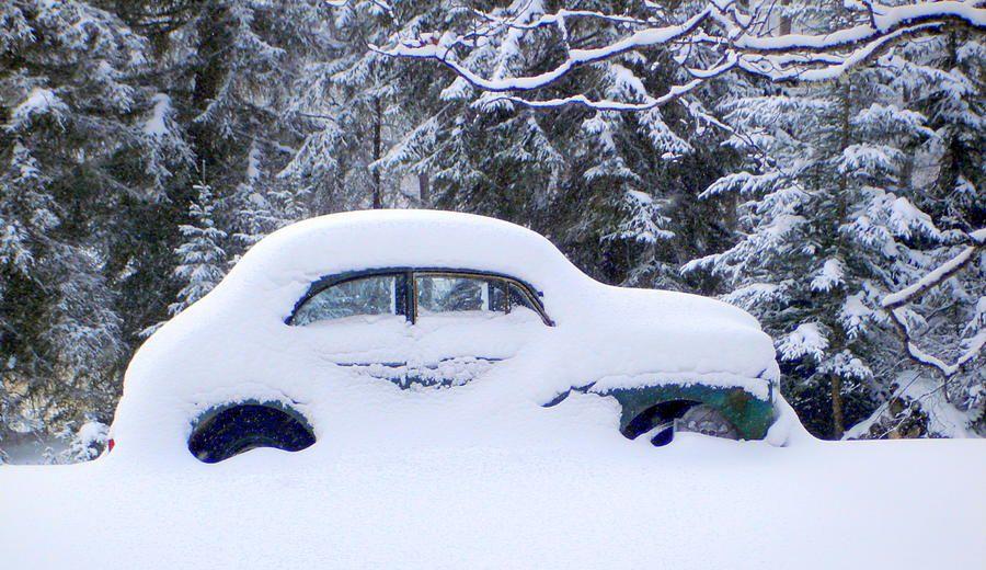 Заброшенные в снегу: 20 фото, на которых победила зима (с ...