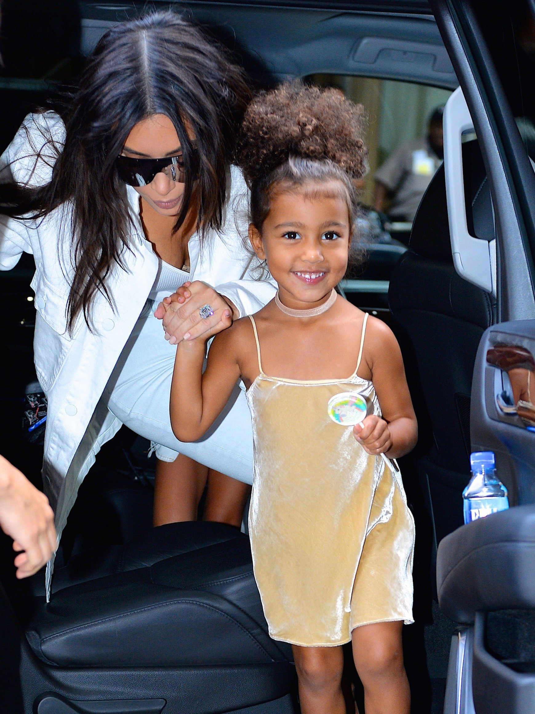 North West Turns 4! See The Toddler's Street Style Hair