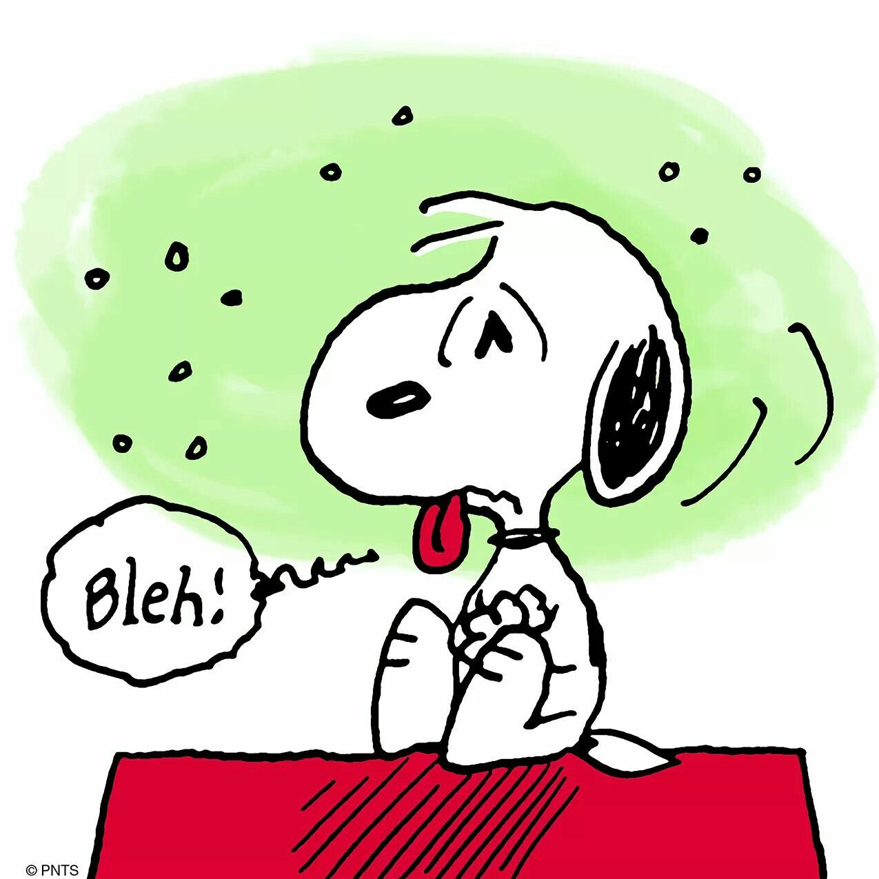 Blah Snoopy Sick Feeling Bad Stuff That Just Makes Me Happy