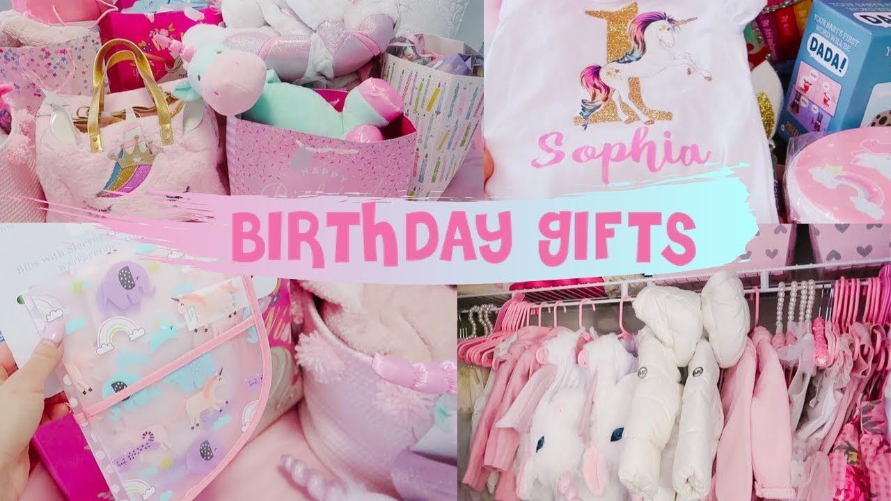 My twin girls were spoiled first birthday gift ideas