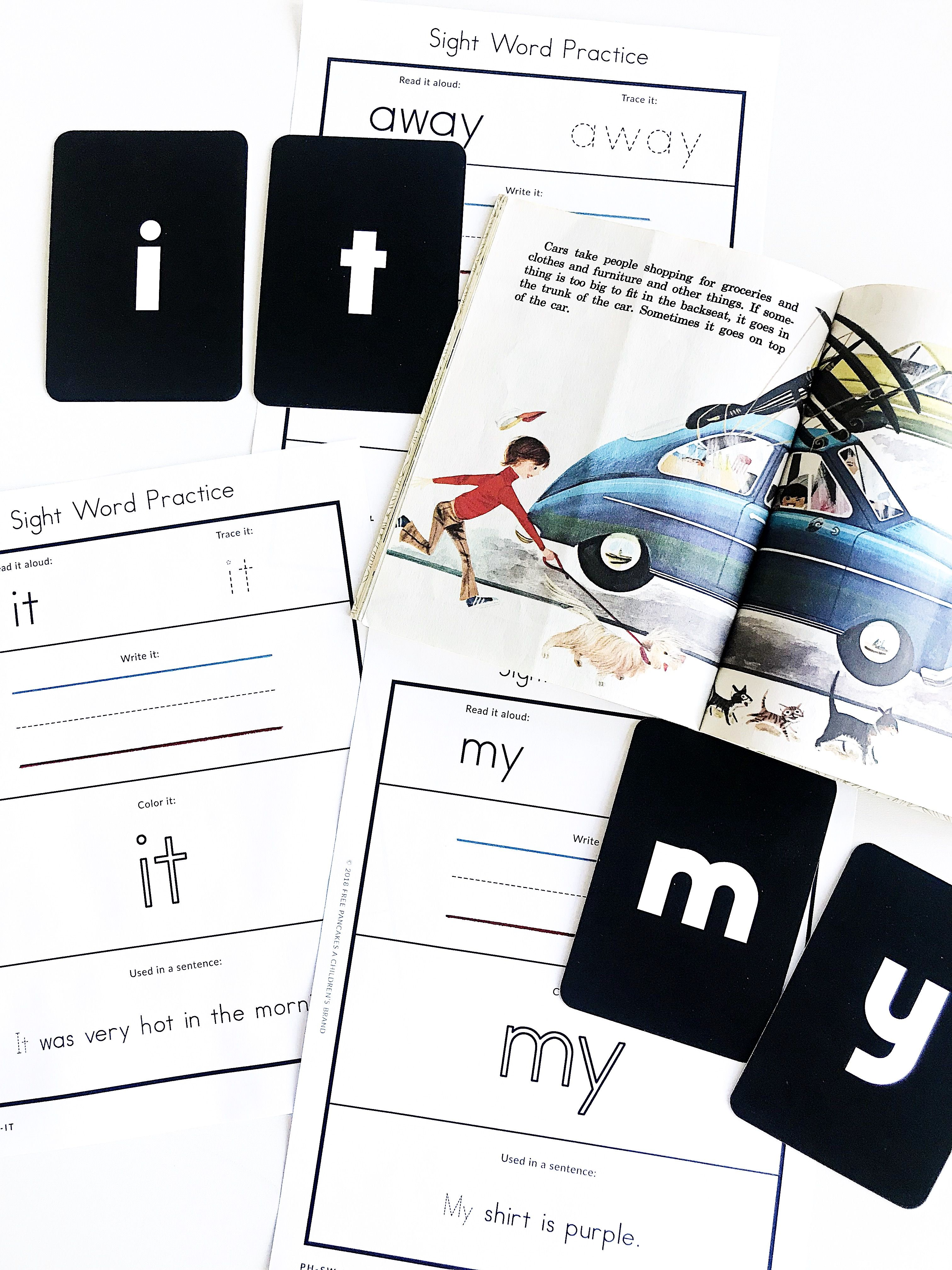 Dolch Sight Word Worksheets And Lessons For Preschool And