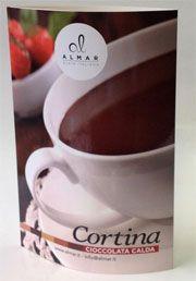 Totem da banco per Cioccolata Cortina