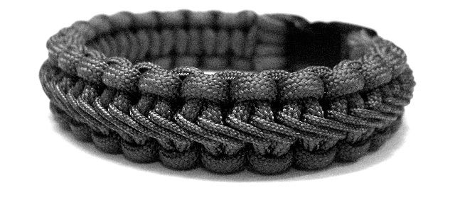 Stairstep Stitched Paracord Bracelet Paracord Knots