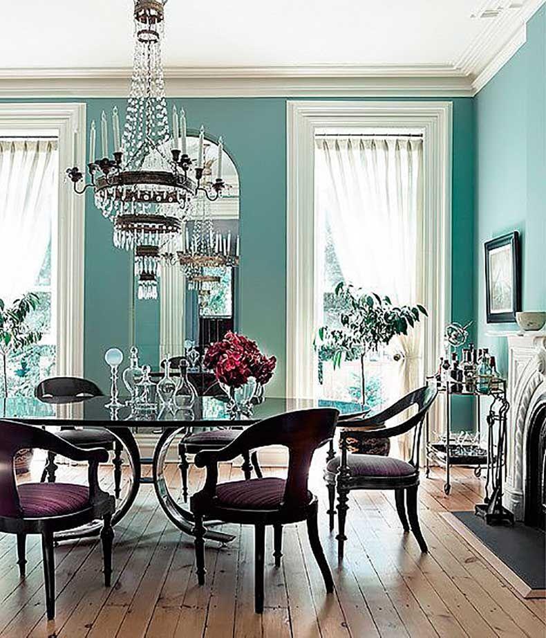 Paredes Pizarra Para Cocinas Decoración Del Hogar: Los Colores Más Populares Para Pintar Cada Habitación De